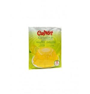 Gelatina sabor limon sobre 85 gr. Calnort