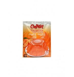 Gelatina sabor naranja sobre 85 gr. Calnort