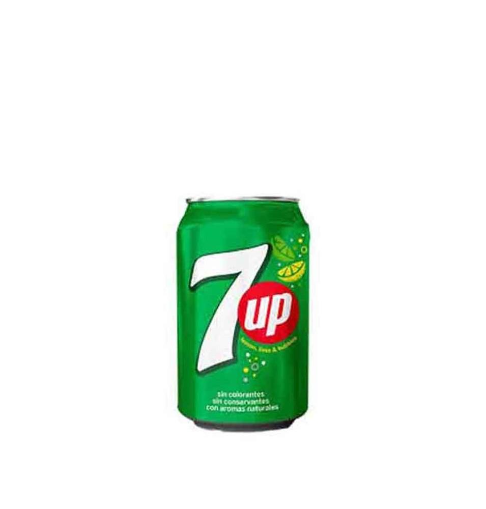 Refresco Seven Up Regular Lata 33 cl