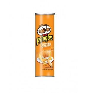 Snack Pringles Cheddar Cheese 158 gr caja x 14