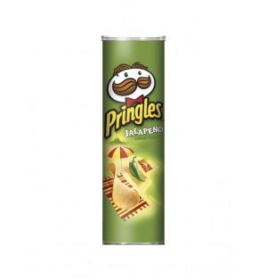Snack Pringles JalapeÏo 158 gr caja x 14