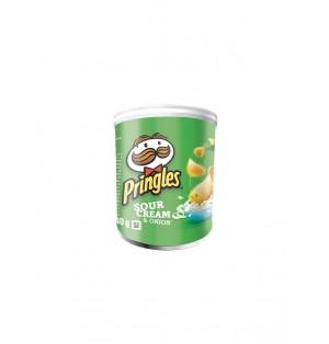 Snack Pringles Sour Cream&Onion 40 gr caja x 12