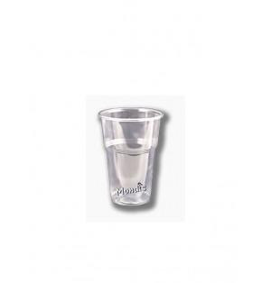 Vaso de plastico irrompible de 330cc altto Paq x 50