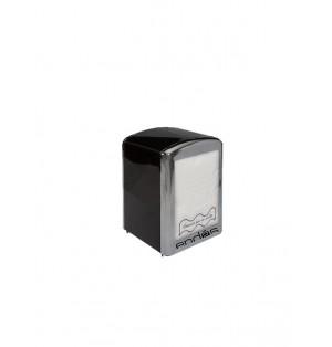 Servilletero metalico de color negro