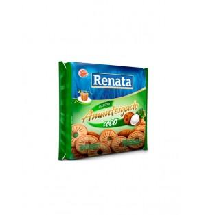 Galletas de mantequilla sabor coco 330 g Pac-3 Renata