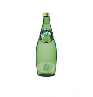 Agua Natural con Gas Perrier 75 cl cja x 12