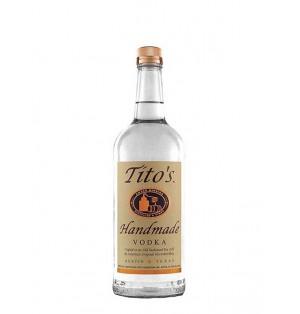 Vodka Tito's handmade 750ml, cjx12 bot.