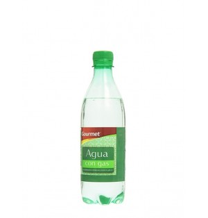 Agua Gourmet C/Gas 50Cl