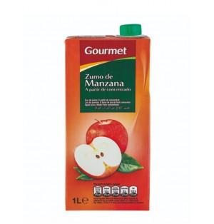 Zumo Gourmet Manzana .Brick 1L