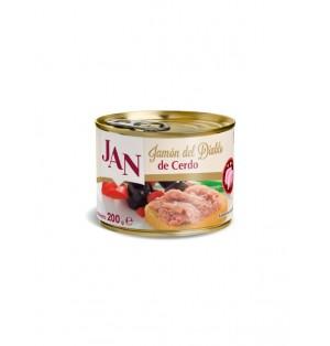 Jamon del Diablo con cerdo 200 gr JAN