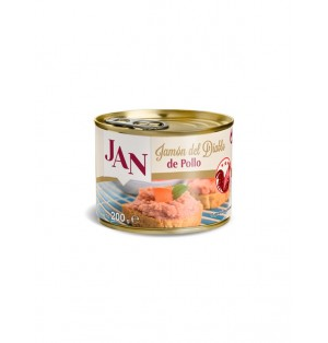Jamon del Diablo con pollo 200 gr JAN