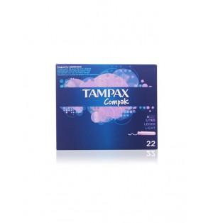 Tampon Tampax Compak Lites 22U