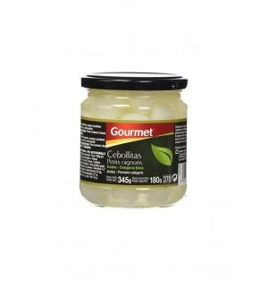 Cebollita Gourmet 345G Esc. 180g
