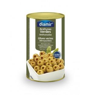 Aceitunas Verdes Sin Hueso 5 Kg 340/370 Diamir