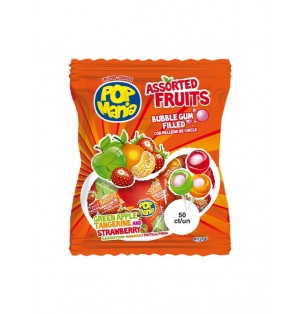 Pop Mania Frutas Surtidas 14 Bolsas x 50 Ud 17 g Riclan