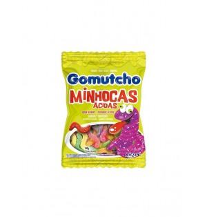 Caramelos Gomas Gomutcho Gusanos acidos 40X80G Riclan