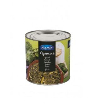 Espinacas al natural 3kg DIAMIR