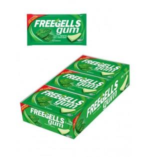 Chicle sin azucar Freegells Gum Hierbabuena 12x15 Ud Riclan
