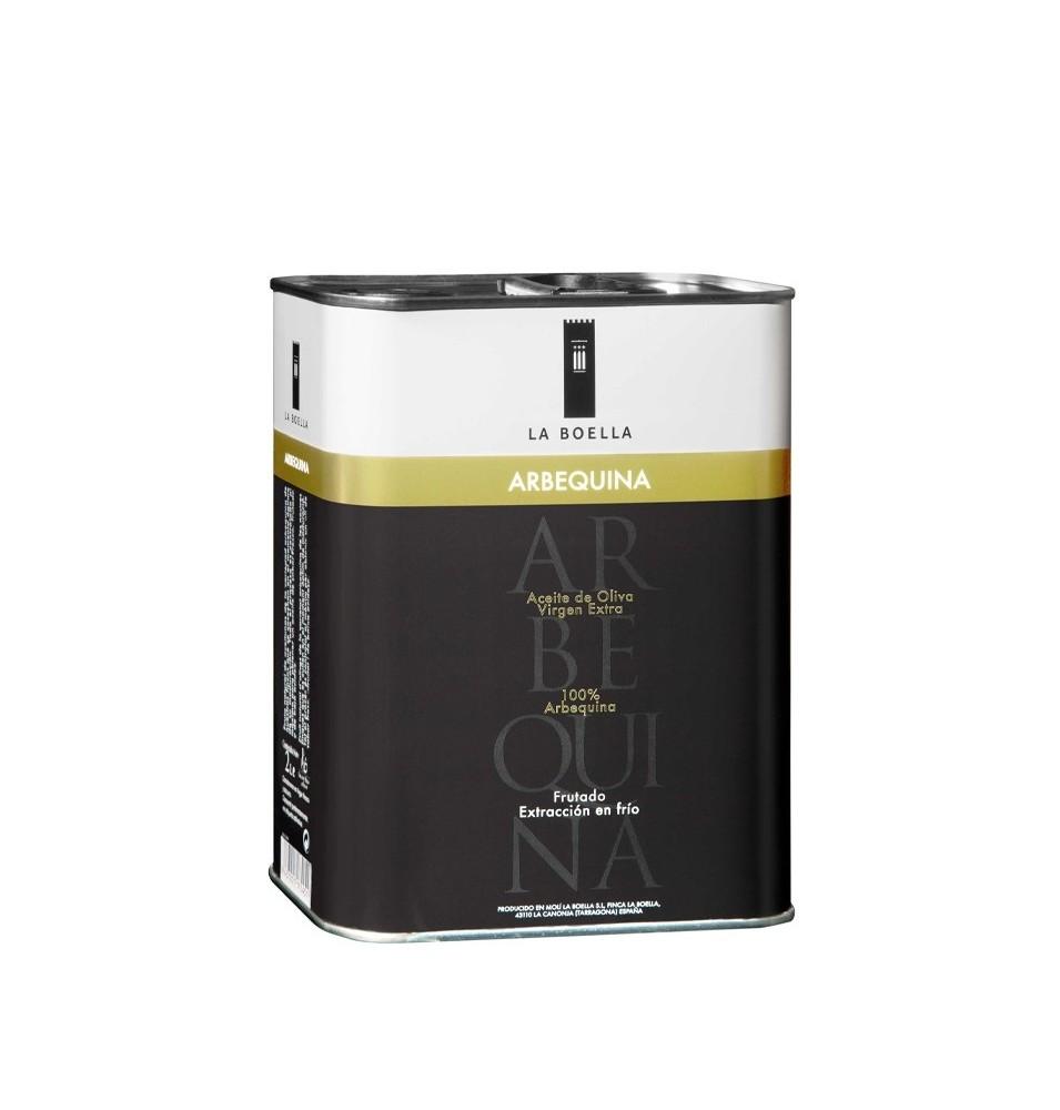 Aceite de Oliva Arbequina lata 2 L La Boella
