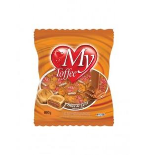 Caramelo My Toffee Leche c/Dulce Leche 600 g Bolsa Riclan