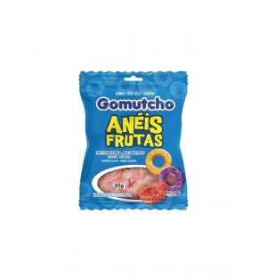 Caramelos Gomas Gomutcho Aros frutales 40X80G Riclan