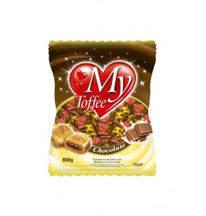 Caramelo My Toffee Leche c/Choco 600 g Bolsa Riclan