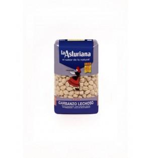 Garbanzo lechoso Bolsa 500gr caja x 12 La Asturiana