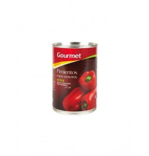 Pimiento Gourmet Ext.Lata 390g Esc. 250G