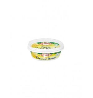Barqueta oval de mantequilla President 250g con sal