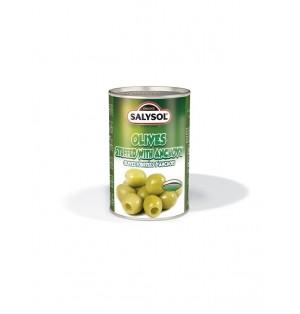 Aceitunas con anchoas 120g Salysol