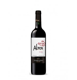 VT Terrazas Altos del Plata Malbec 750 ml