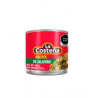 Nachos de jalapeños 24 / 380 g.  La Costeña