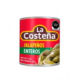 Nachos de jalapeños 6 / 2.800 kg.  La Costeña