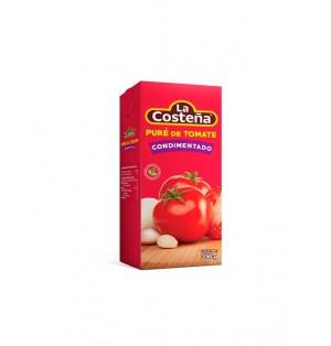 Pure de tomate condimentado 24 / 350 g.  La Costeña