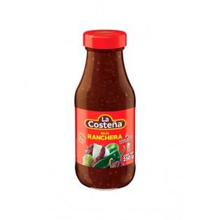 Salsa ranchera botella 20/250 g  La Costeña