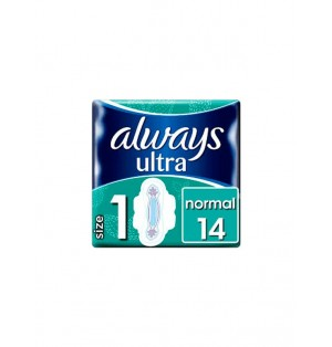 Almohadillas sanit ultra normal c/alas Always Pack 14 PCs