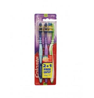 Set de 3 cepillos para dientes Colgate