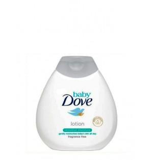 Loción corporal Dove Baby 400ml. Piel sensible sin perfume.