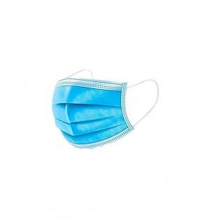 Mascara facial sanitaria desechable 3 capas 50 unidades