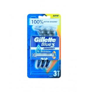 Maquinas desechables Gillette Blue Comfort 3 hojas pack 3