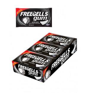 Chicle sin azucar Freegells Gum Extra Fuerte 12x15 Ud Riclan
