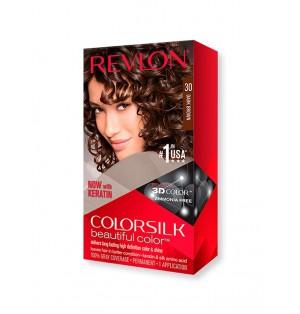 Tinte Revlon Colorsilk Beautiful 30 Castaño oscuro