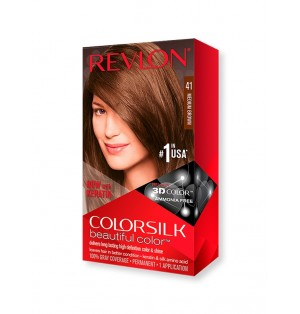 Tinte Revlon Colorsilk Beautiful 41 Castaño medio