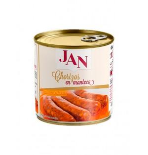 Chorizo con manteca 625 gr JAN