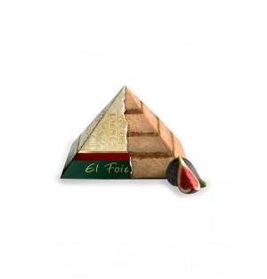 Foie Gras c/ Mermel de Higos 250 g Piramide cong Mas Pares