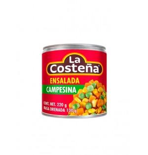 Ensalada campesina charola 24 / 220 g La Costeña
