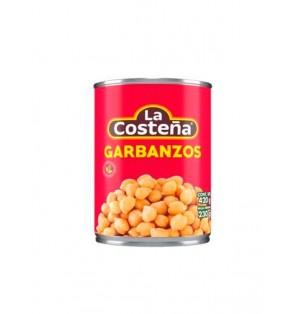 Garbanzos charola 24 / 420 g