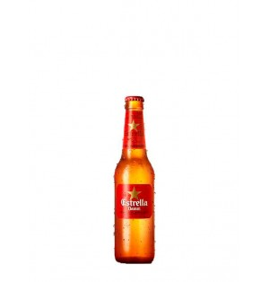 Cerveza Estrella Damm Botella 33 cl caja x 24