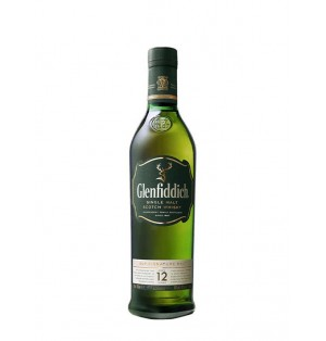 Whisky Glenfiddich 12 years old 40% 750 ml