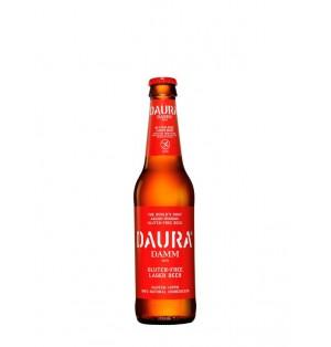 Cerveza Daura Damm Botella 33cl 5.4% sin gluten caja x 24